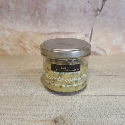 courgettes chévre - La Paillote Dauphinoise - VOIRON